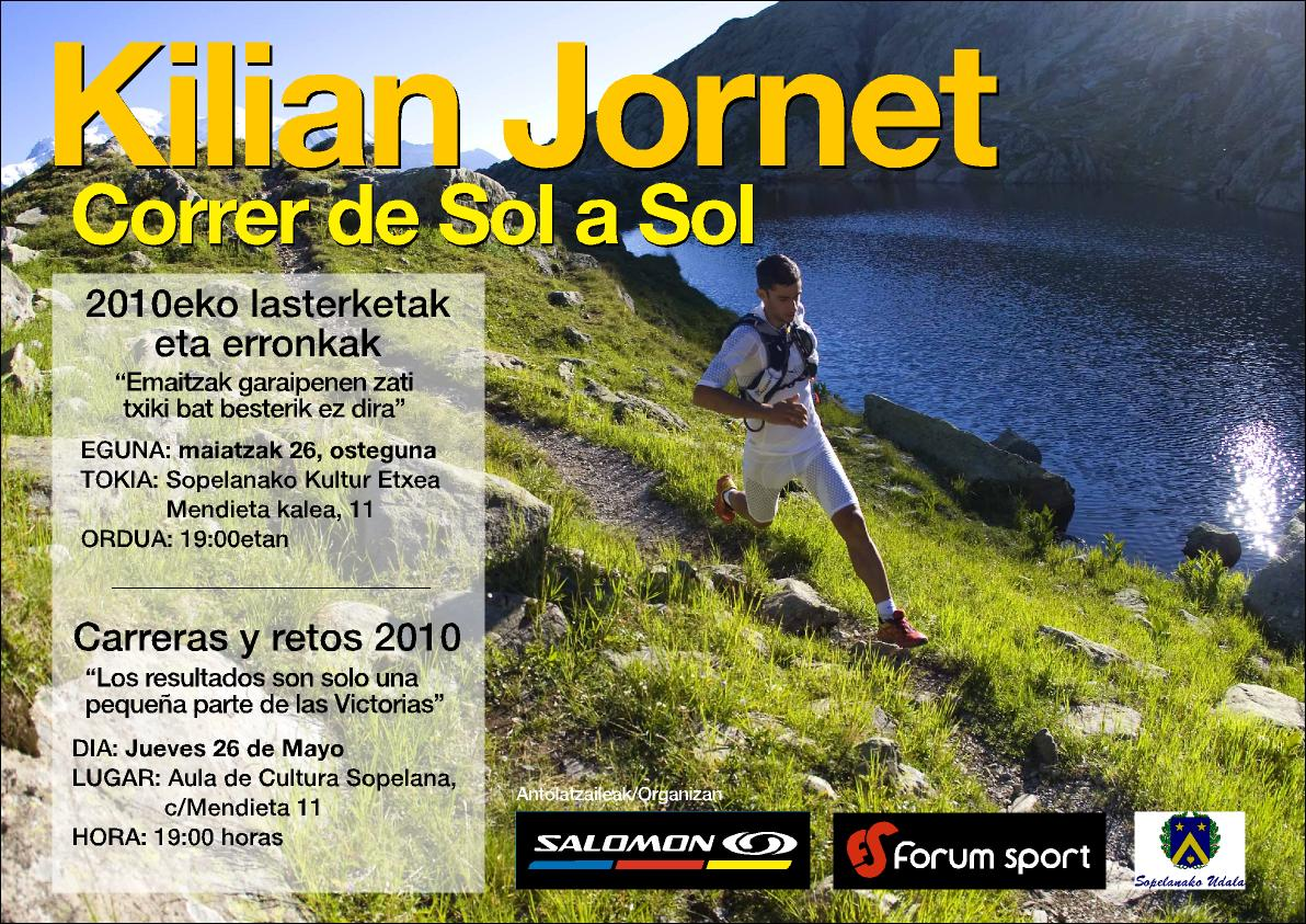 Kilian Jornet Ofrecerá Una Conferencia En Sopelana Trail