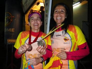 Miryam Talens i Xari Adrian, medalles ultratrail